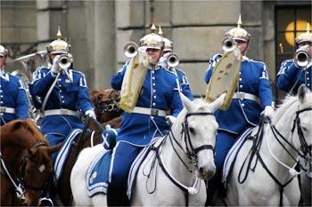 衛兵交代式 (スウェーデン王宮・ストックホルム宮殿)