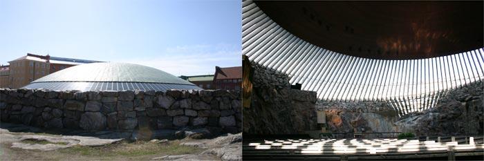 石の教会 (テンペリアウキオ教会)