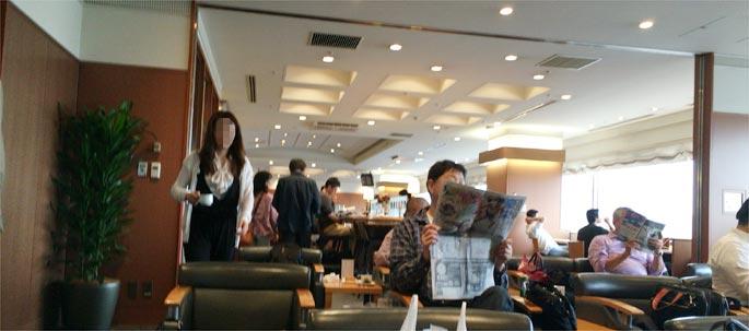 羽田空港 ラウンジ南