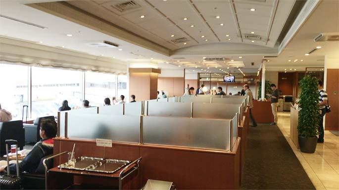 羽田空港第2ターミナル ラウンジ北