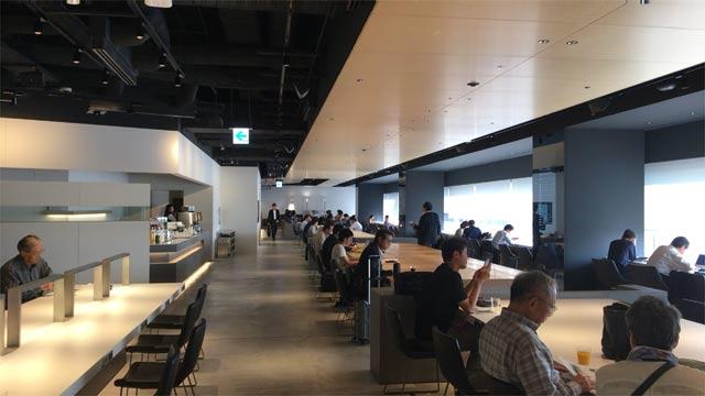 羽田空港第1ターミナル POWER LOUNGE SOUTH