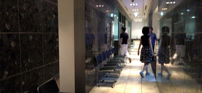 那覇空港 ラウンジ華の中の様子
