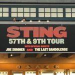 STING(スティング)の来日公演。マイルがあれば海外公演も夢じゃない(?)