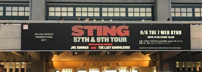 STING(スティング) 2017年来日公演