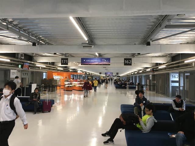 成田空港 第3ターミナル サテライト