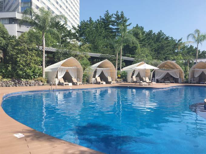 シェラトン・グランデ・オーシャンリゾートのプール