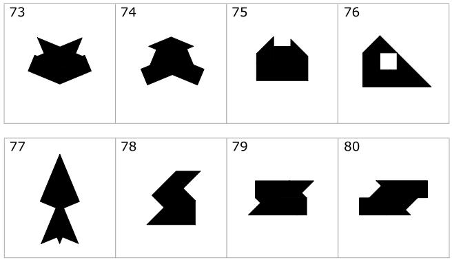 Tパズル「The-T(ザ・ティー)」の問題4