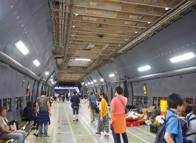 C-5(ギャラクシー)の貨物室