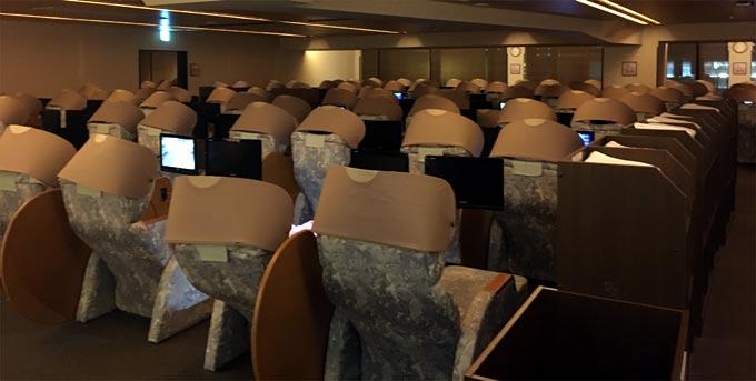 新千歳空港温泉 リラックスルーム