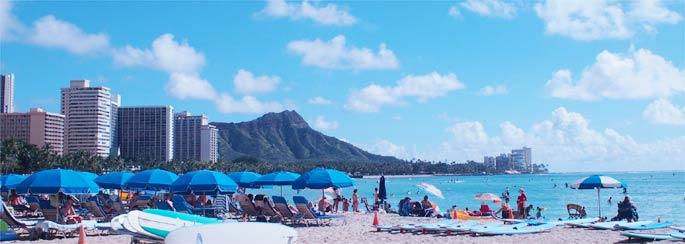 ハワイ ワイキキビーチ