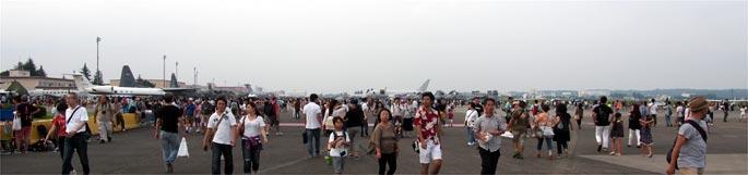 日米友好祭 地上展示