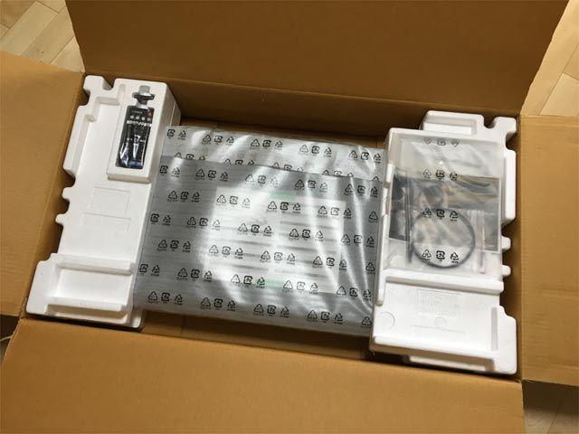 ヤマハ SRT-1500の箱の様子