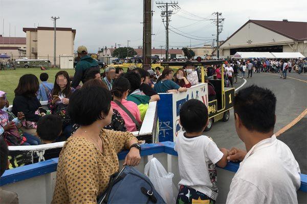 日米友好祭のタクシー