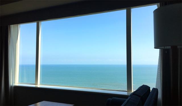 シェラトン・グランデ・オーシャンリゾートの窓側の景色