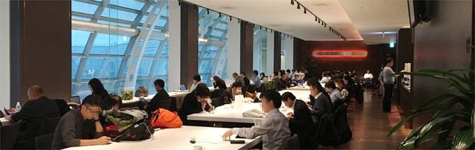 羽田空港 第2ターミナル、カードラウンジ「エアポートラウンジ南」を利用してみた。