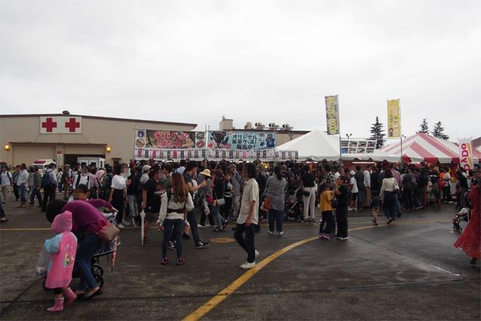 日米友好祭2018会場の様子