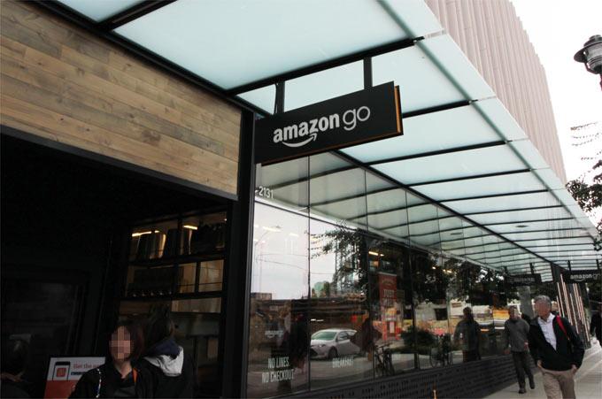 シアトル・7thストリートにあるAmazon Goの1号店