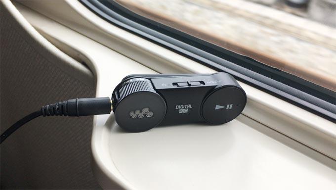 MDR-NWBT20Nを新幹線で利用
