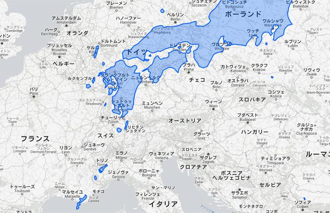 ヨーロッパに日本を置いてみると、羽田-那覇