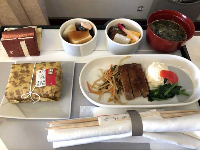 JAL国内線ファーストクラス
