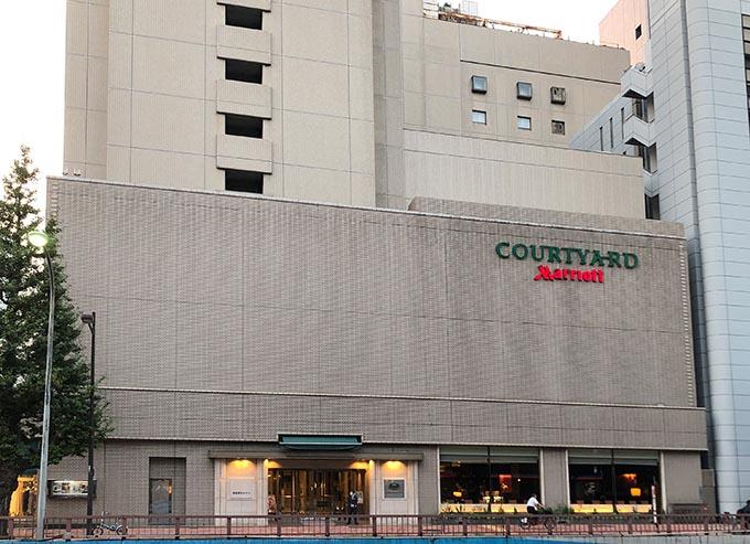 コートヤード・マリオット銀座東武ホテル 2007年4月1日開業