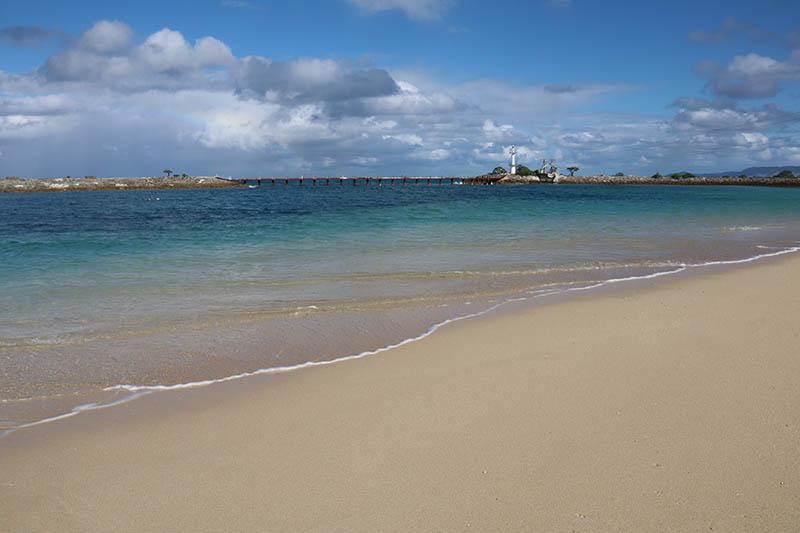 シェラトン沖縄の綺麗なビーチ