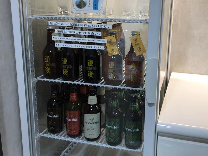 松山空港スカイラウンジのアルコール