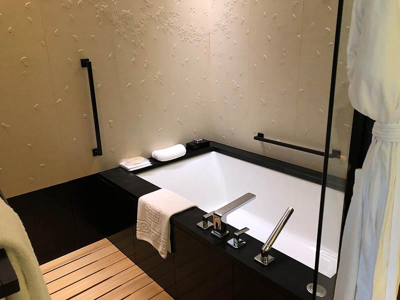 リッツカールトン京都風呂