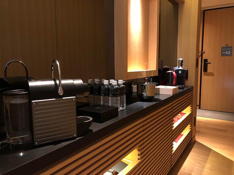 リッツカールトン京都 コーヒー、紅茶