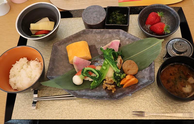W大阪 朝食 和食メニュー